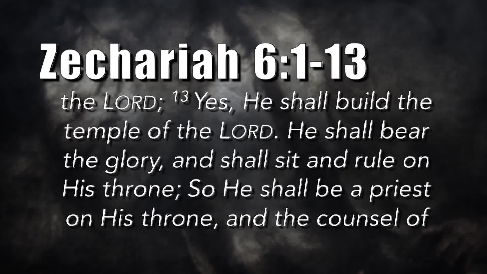 Bible Discovery - Zechariah 5-8 Strange Visions
