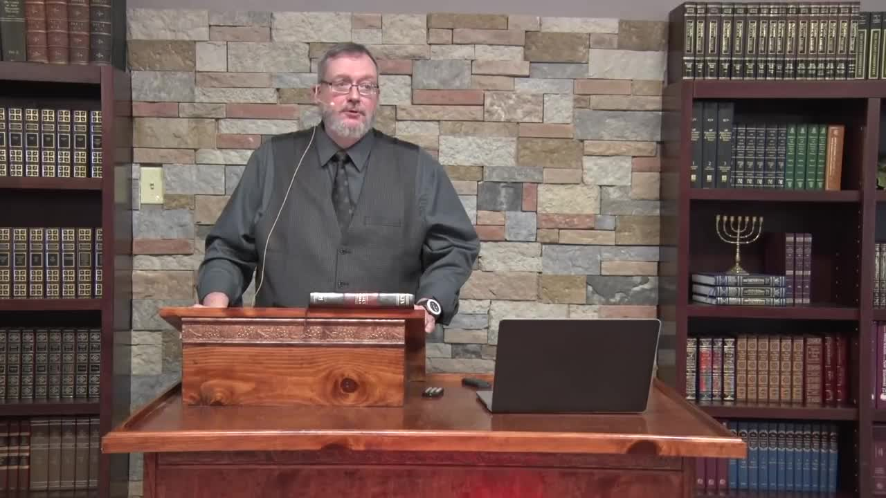 Dr Michael Lake - The Sevenfold Anointing of Messiah Part 8