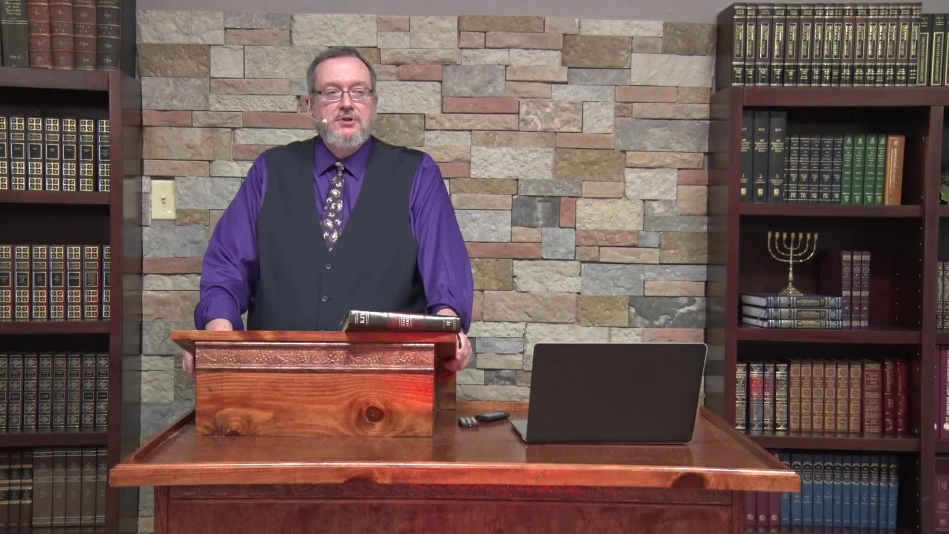 Michael K Lake - Sevenfold Anointing of Messiah Part 4