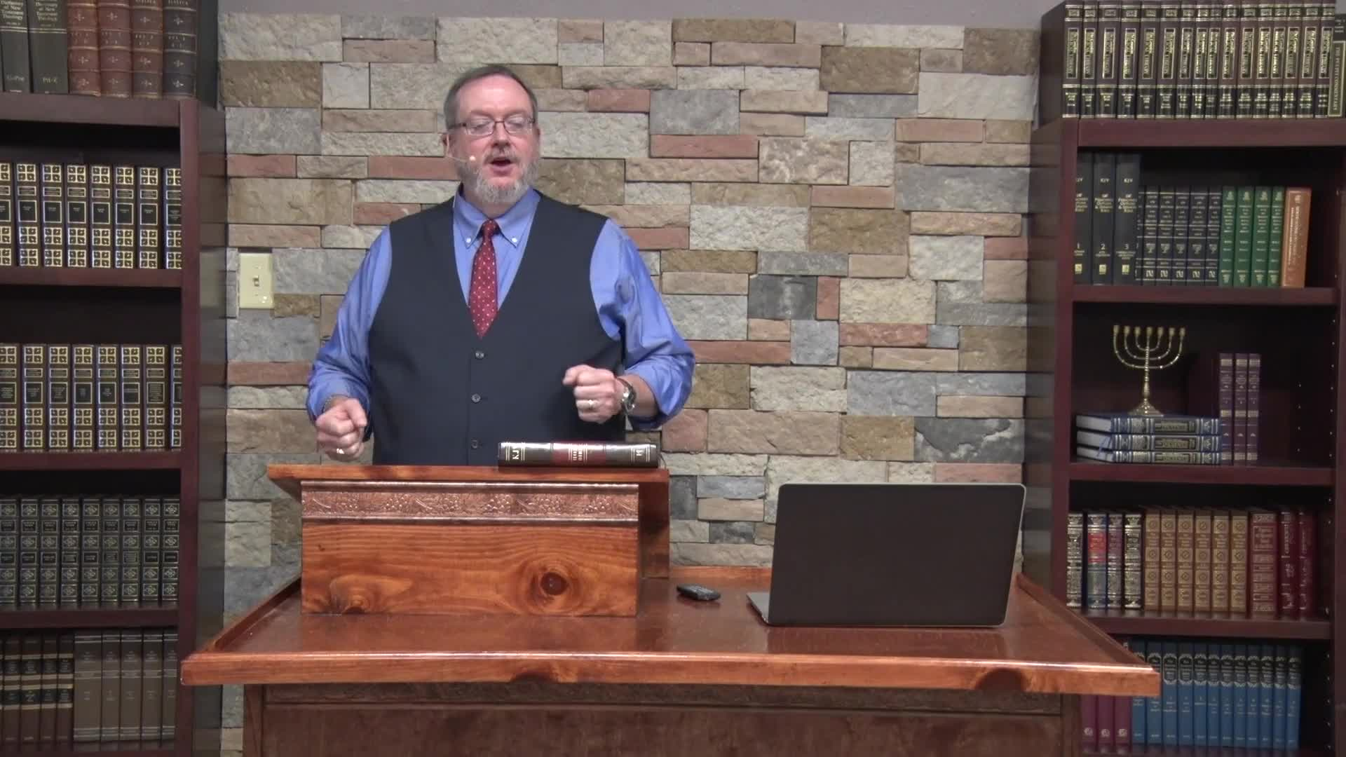 Michael K Lake - The Sevenfold Anointing of Messiah Part 1