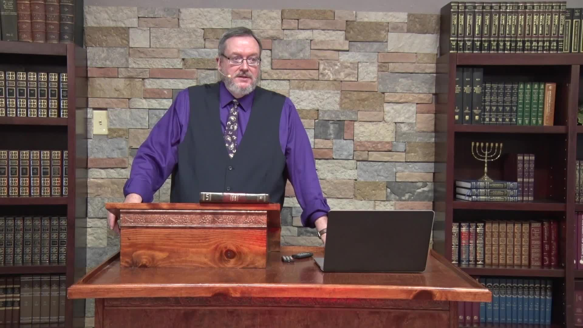Michael K Lake - The Sevenfold Anointing of Messiah Part 3