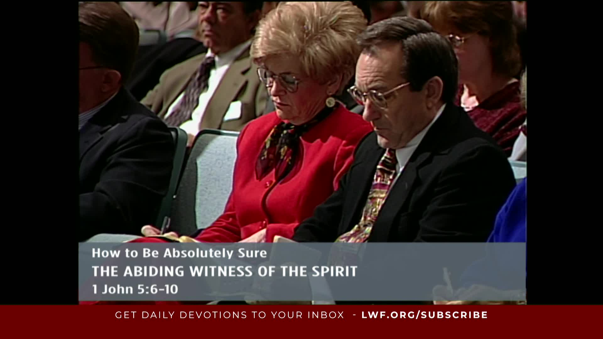 Adrian Rogers - How To Be Absolutely Sure