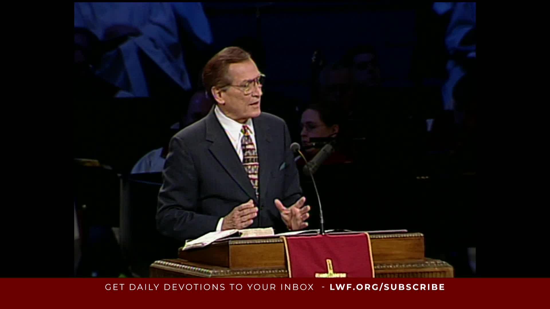 Adrian Rogers - God Versus Humanity