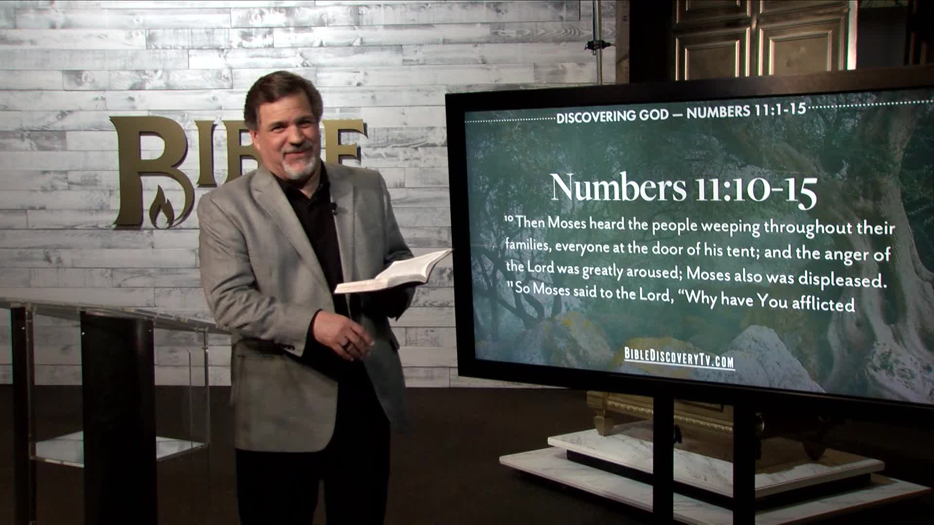 Bible Discovery - Numbers 11 Complaining