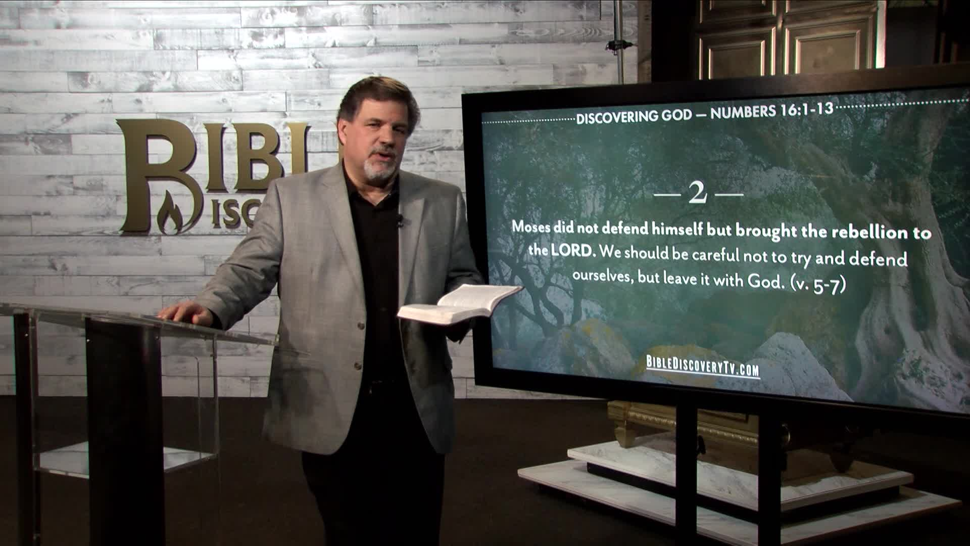 Bible Discovery - Numbers 16 Rebellion